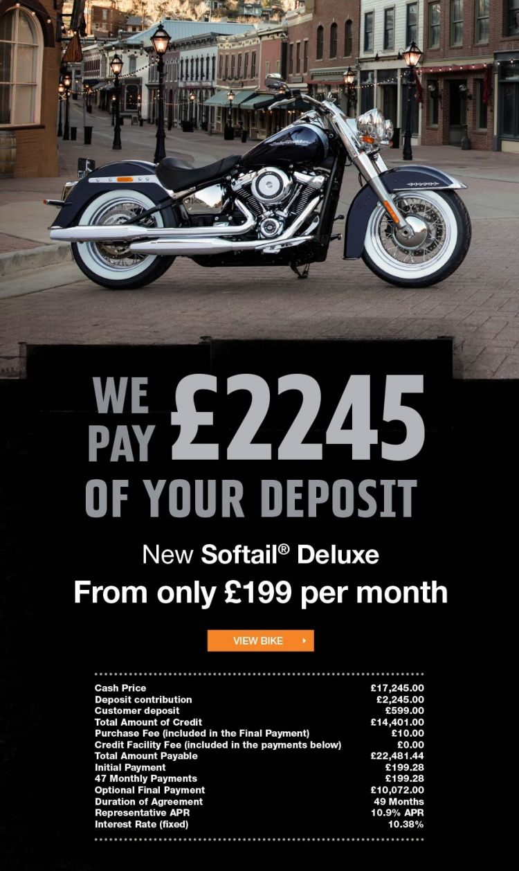 Softail Deluxe Promotion